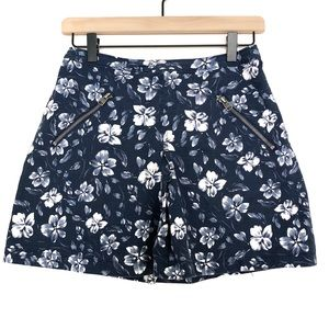 Abercrombie & Fitch | Navy Floral Mini Skirt